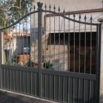 cancello lamiera e nodi