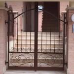 cancello pedonale ricci