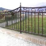 recinzione in ferro