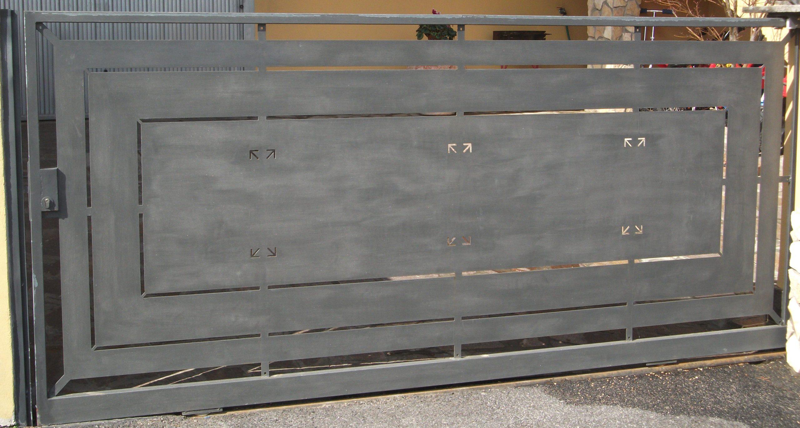Cancello Riquadri